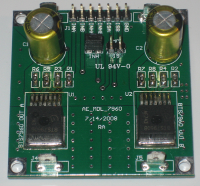MDL-7960 High Current DC Motor Controller Module